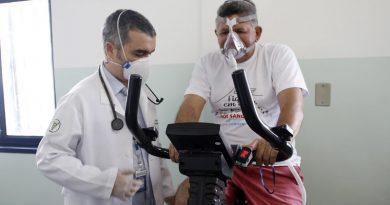 Manaus tem fisioterapia pulmonar gratuita para recuperados da Covid-19