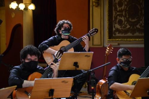 Orquestra de Violões do AM homenageia o regional em live dos Corpos Artísticos
