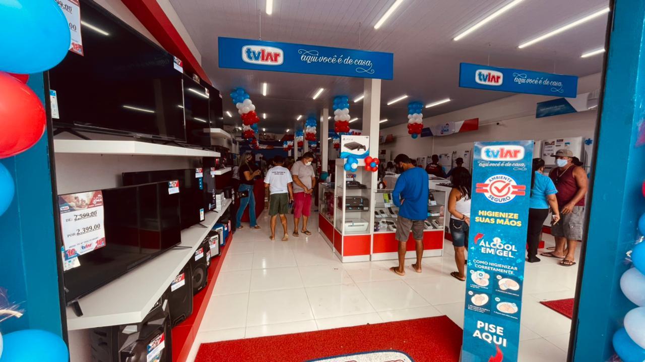 TVLAR chega a Eirunepé com inauguração da 57ª loja