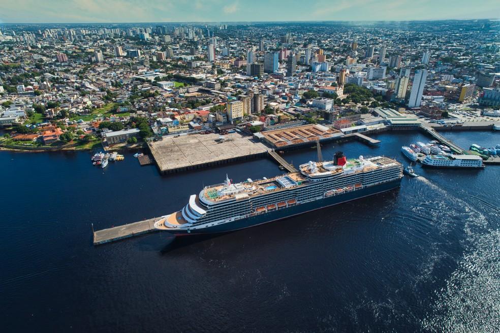 Prefeitura de Manaus estuda temporada de cruzeiros 2021/2022