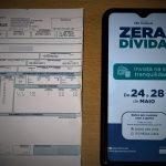 """Conta de água: campanha """"Zera Dívida"""" inicia nesta segunda (24)"""