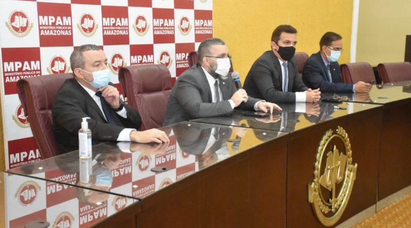 Coronel da PM, ex-policial e investigador são presos por organização criminosa em Manaus