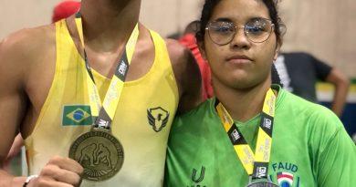 Alunos da Nilton Lins conquistam medalhas em campeonato brasileiro de Wresteling